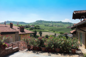 View of La Morra from Frazione Annunziata